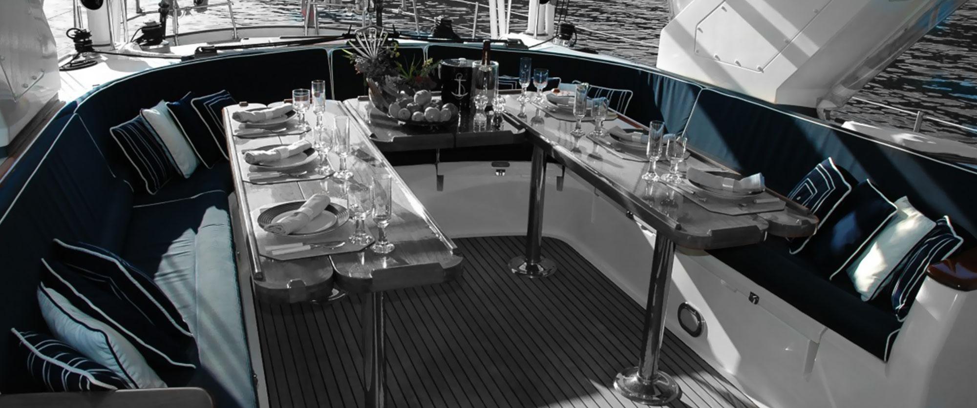 Rifacimento cuscineria barche Mantova